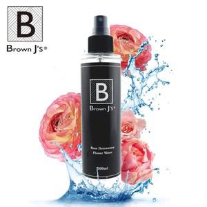 【Brown J's】大馬士革玫瑰植萃純露 化妝水 水嫩保濕補水(200ml)