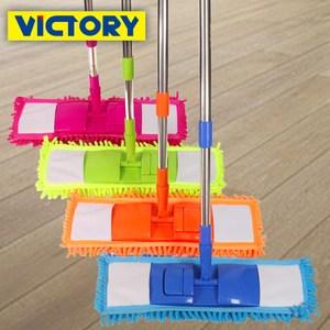 [特價]【VICTORY】雪尼爾強效平板拖(1拖2布)
