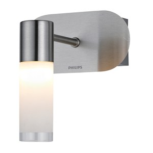 飛利浦衛浴系列蘆薈圓柱單頭壁燈
