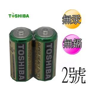 東芝 新環保高效能碳鋅電池2號 12入