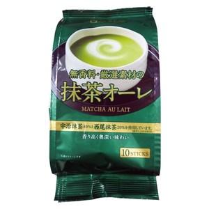 日本日東紅茶即溶抹茶歐蕾10包