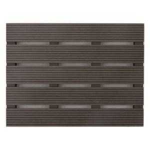 貝力塑木踏板 45x60x4.7cm 深灰