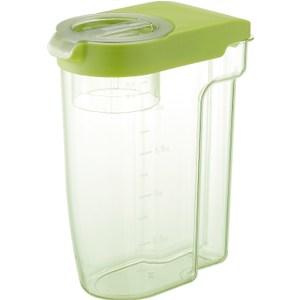 【LIBERALISTA】可冷藏多功能收納保鮮儲米罐 - 綠色