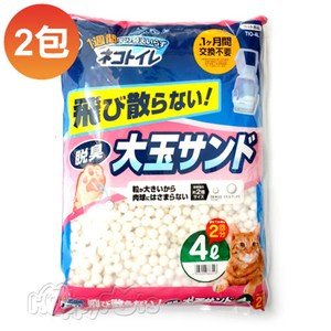 【IRIS】日本 大玉脫臭貓砂(TIO-4L) - 4L X 4包