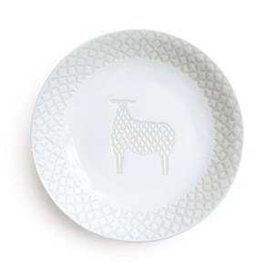 Natural69 波佐見燒 ZUPA White系列 甜點盤 15cm 綿羊