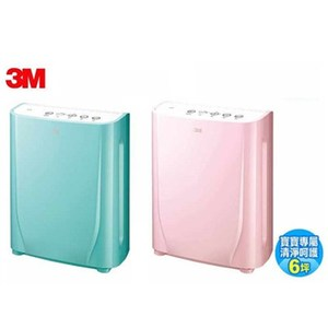 3M FA-B90DC 6坪 淨呼吸寶寶專用型空氣清淨機 棉花糖粉