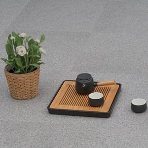 塑膠地磚18吋-灰砂岩-0.5坪