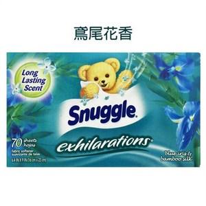 美國 Snuggle 烘乾機香衣片---鳶尾花香(70片*3盒)