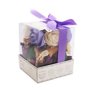日本索拉花香花盒 -紫色亞麻