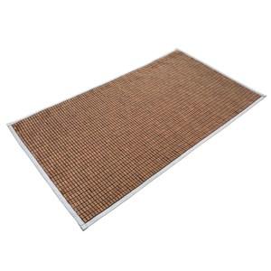 光洵炭化麻將竹雙人加大床蓆180x186cm 布繩