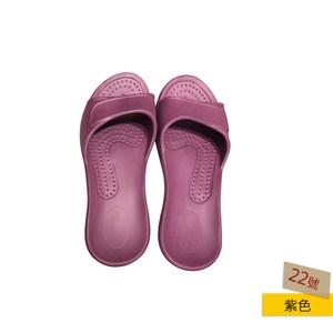 HOLA EVA柔軟兒童室內拖鞋紫-22號