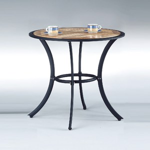【YFS】莉莎休閒圓桌-80x80x72.5cm
