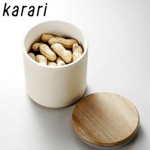 日本Karari珪藻土食物保存罐HO1845吸濕防潮罐矽藻土
