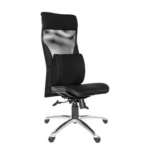 GXG 高背電腦椅 (鋁合金腳/無扶手/大腰枕)TW-170 LUANH#訂購備註顏色