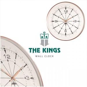 THE KINGS Airplane mode飛航雷達復古工業時鐘