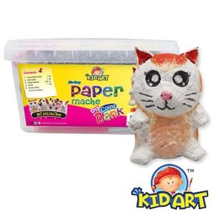 KID ART 美國創意手作黏土 紙黏土(短腳貓)
