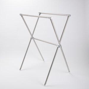 HOLA 304不鏽鋼X型伸縮曬衣架