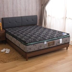 【YFS】柏宜斯-舒柔記憶棉正三線硬式雙人5尺彈簧床墊