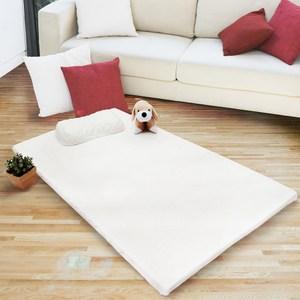 【FITNESS】單人天然乳膠床墊3尺(8公分)