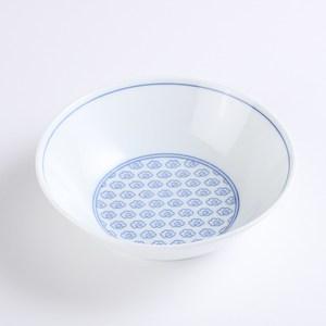 日本晨月湯碗17cm 雲繪