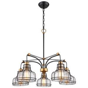 洛福特5燈吊燈