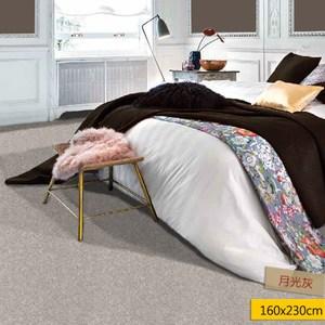 科隆比尼龍地毯160x230cm月光灰