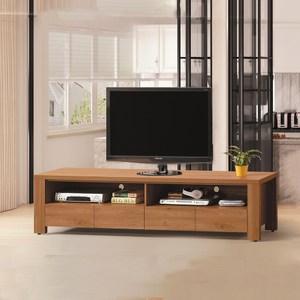 【MUNA 家居】優樂6.5尺電視櫃/長櫃(共三色)金絲核桃木色
