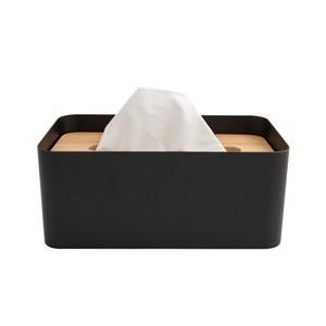 HOLA 羅夫特衛生紙盒 黑