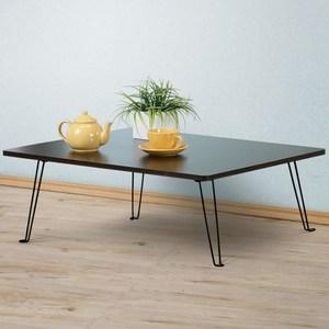 Homelike 便利折合和室桌80x60cm 胡桃色