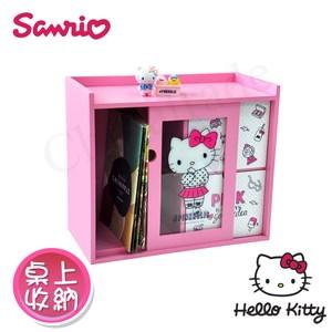 【Hello Kitty】美妝透明拉抽櫃 桌上收納 文具收納 飾品收納