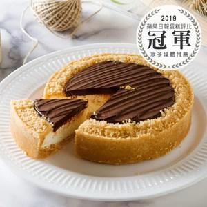 艾波索【比利時巧克力乳酪6吋】蘋果日報蛋糕評比冠軍、自由時報蛋糕評比冠軍