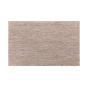 HOLA 特斯勒時尚編織踏墊50x80cm棕黃