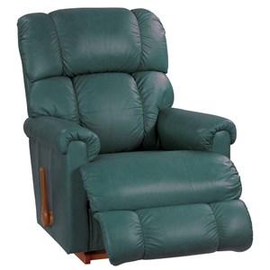 La-Z-Boy 搖椅式休閒椅10T512 全牛皮 土耳其藍