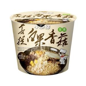 南僑小廚師慢食麵菩提白果香菇