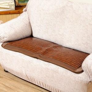 竹間涼感碳化麻將竹二人座墊55x110cm