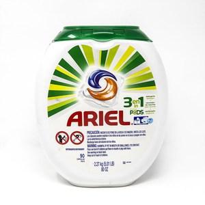 美國Ariel碧浪3合1洗衣凝球(90顆/80oz)*4/箱購