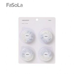 【FaSoLa】藍泡泡雙效馬桶清潔劑(1包4顆
