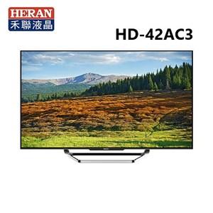 HERAN 禾聯 42吋 雲端液晶電視顯示器+視訊盒 HD-42AC3
