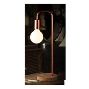 單吊檯燈-紅銅色
