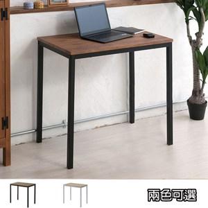《C&B》古木調北歐風萬用方桌(兩色可選)古木深胡桃