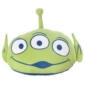 HOLA 迪士尼系列 Toy Story 造型抱枕 三眼怪 Aliens