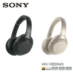 [結帳享優惠]SONY WH-1000XM3 藍牙降噪耳罩式耳機 銀色