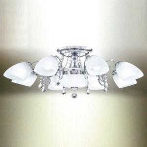 YPHOME 低調奢華風客廳半吸頂8燈 S82181H