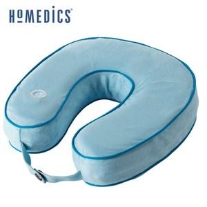 美國 HOMEDICS 記憶泡棉震動按摩頸枕 (藍色)