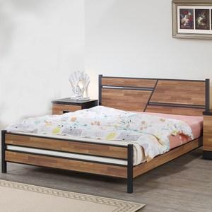 【obis】積層木6尺雙人床架(積層木 6尺 雙人 床架)積層木
