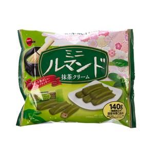 日本北日本迷你蘿蔓捲餅乾[抹茶風味](140g)