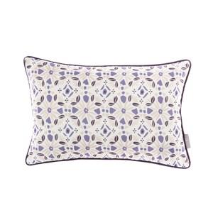 HOLA 凱特印花抱枕30x45cm 萬花紫