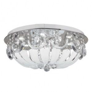 LED 33W+E27X6諾雅莉水晶吸頂燈