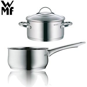 【德國WMF】PROVENCE PLUS低身湯鍋24cm+單手鍋16cm