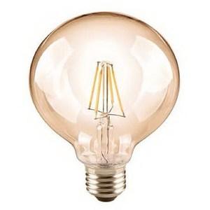6.5W琥珀可調光LED燈絲燈泡E27(黃光)